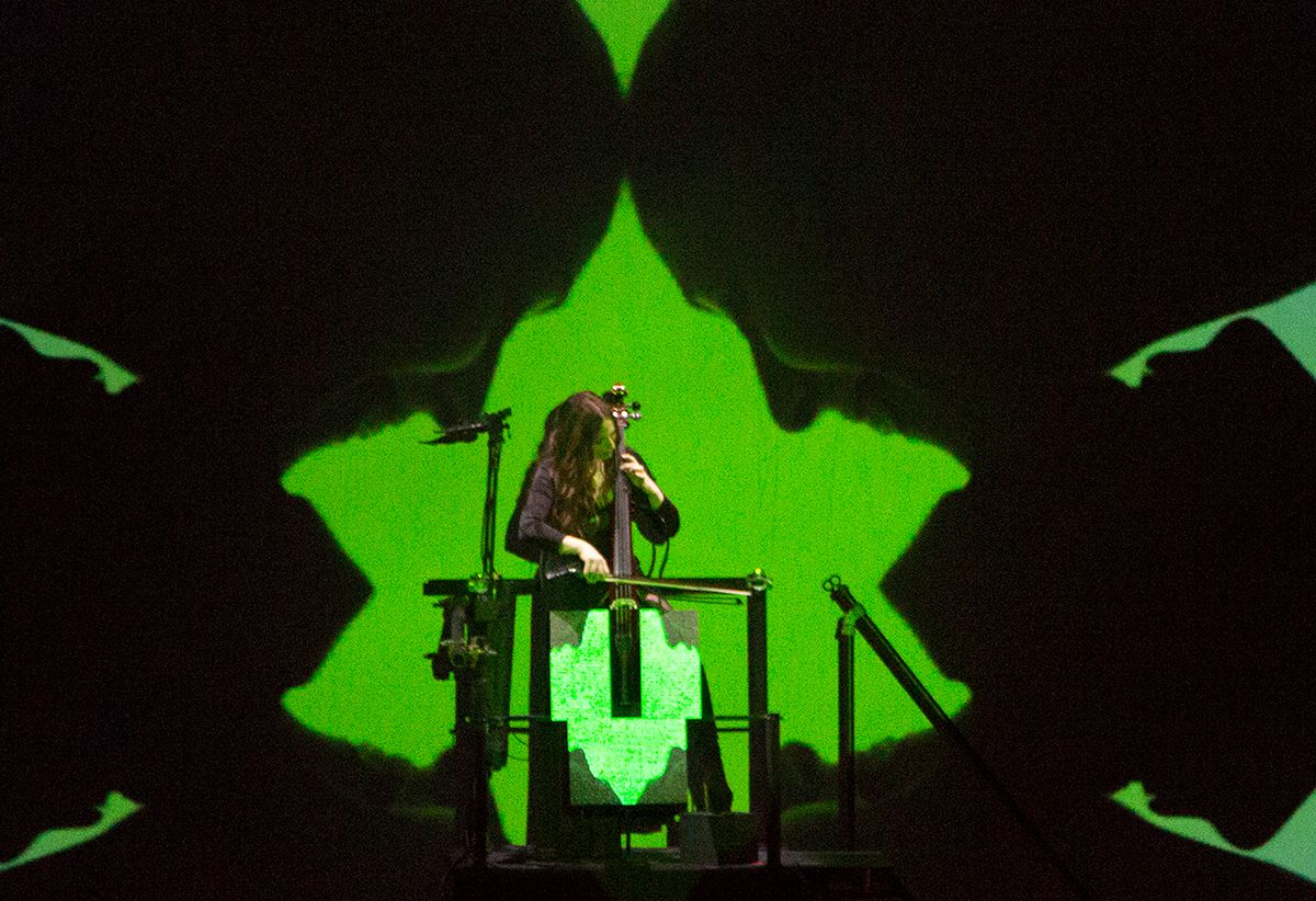 The Making of Erika Harrsch's LED Cello