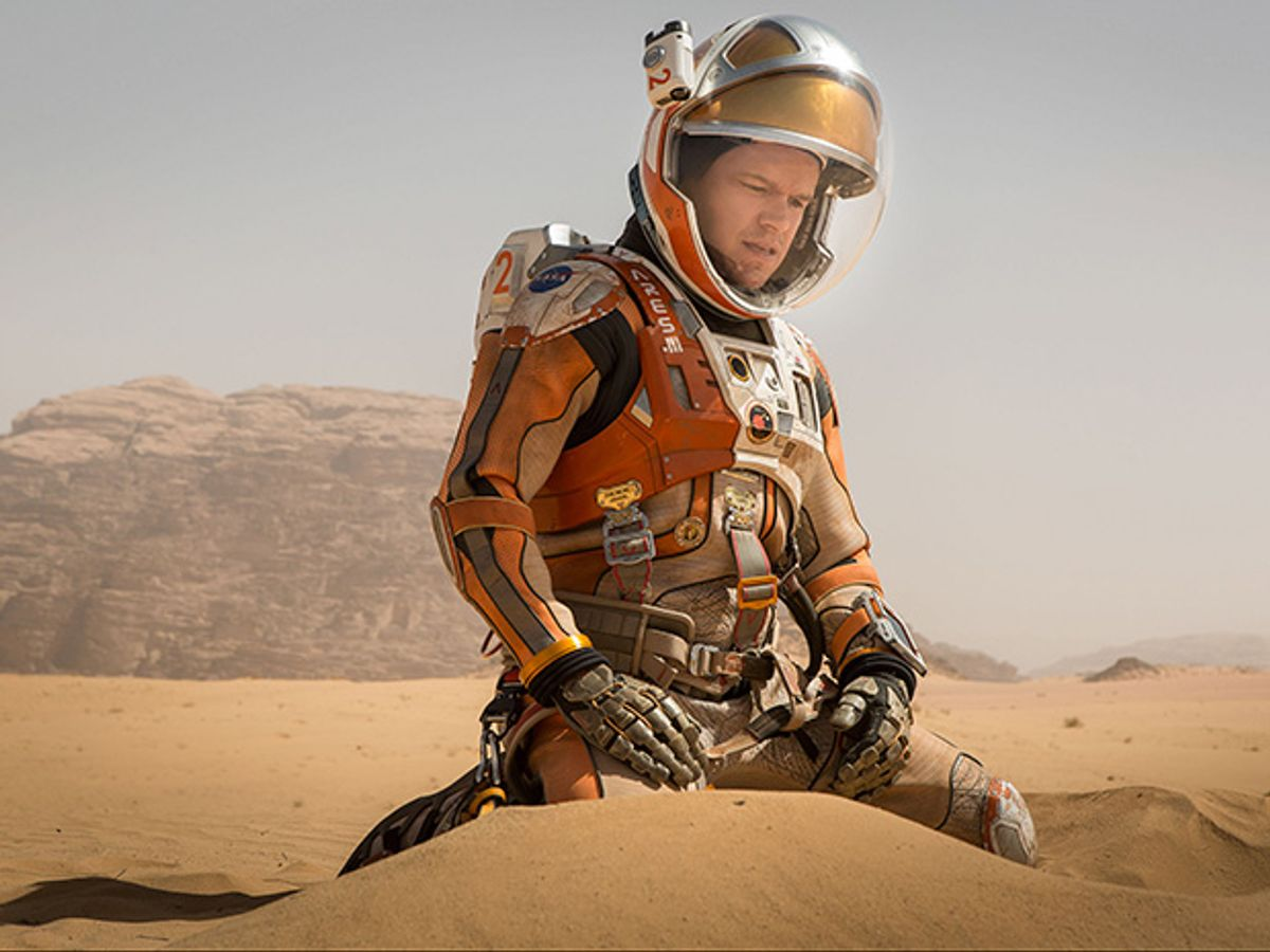 """A Mission Controller Reviews """"The Martian"""""""