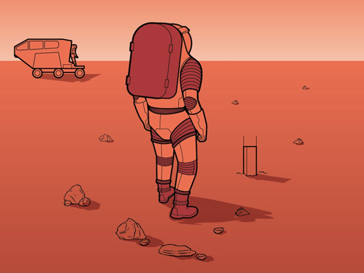 Suiting Up for the Red Planet