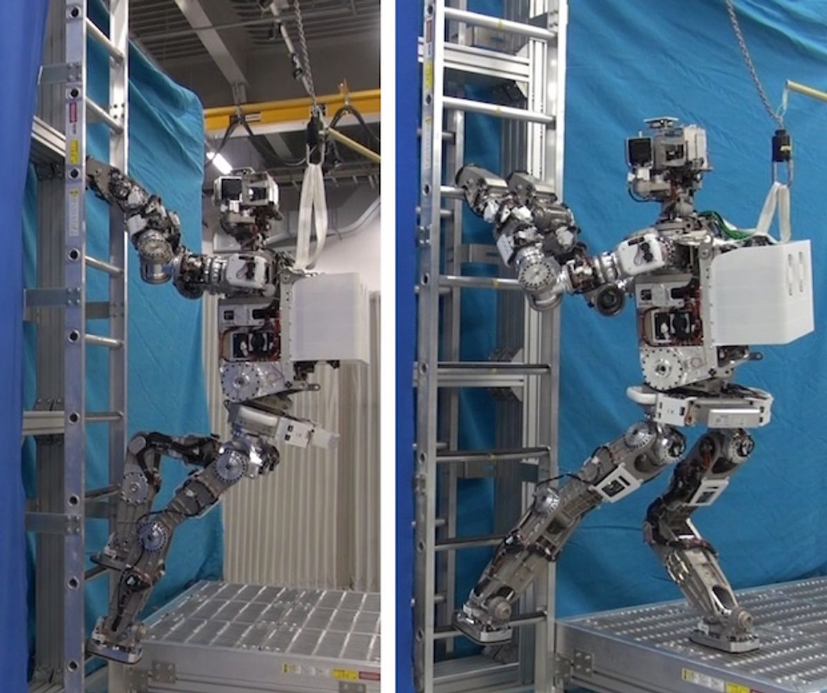 ASIMO experimental research robot for disaster response developed by Honda