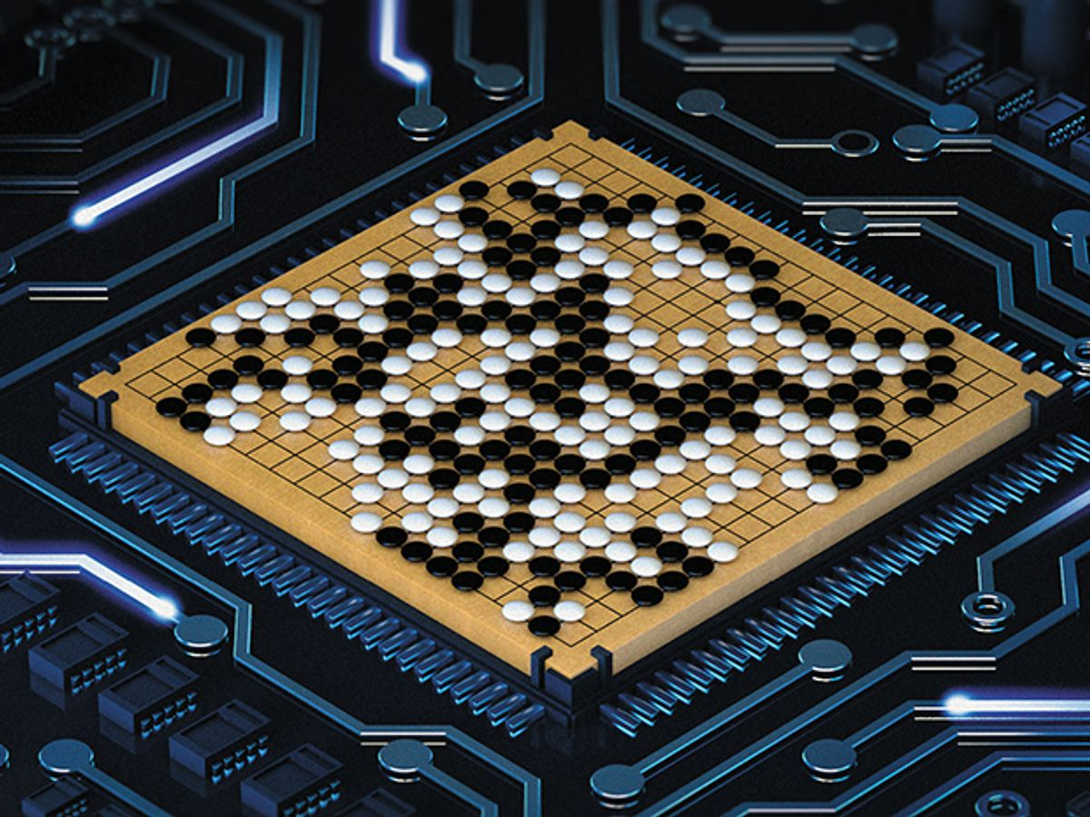 Monster Machine Cracks the Game of Go