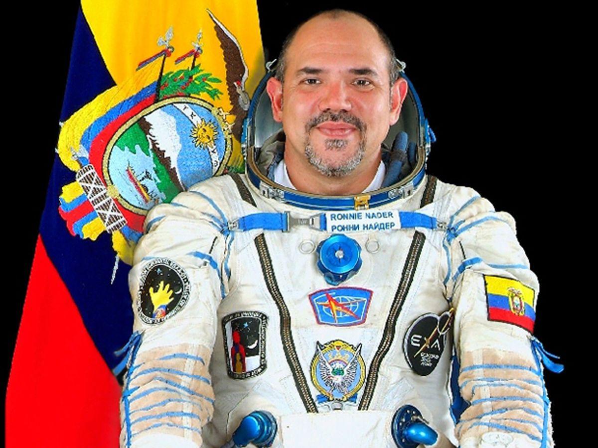 Ronnie Nader: Ecuador's One-Man Space Program