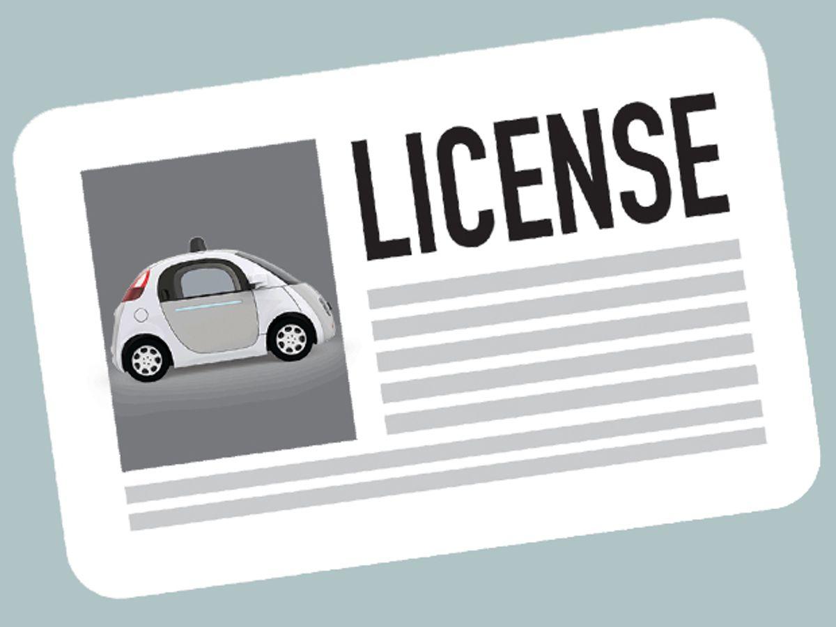 A Google Car Can Qualify As A Legal Driver