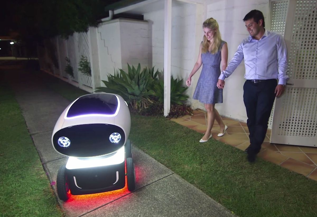 Video Friday: Autonomous Pizza Delivery, Handwriting Robot, and ROS Master