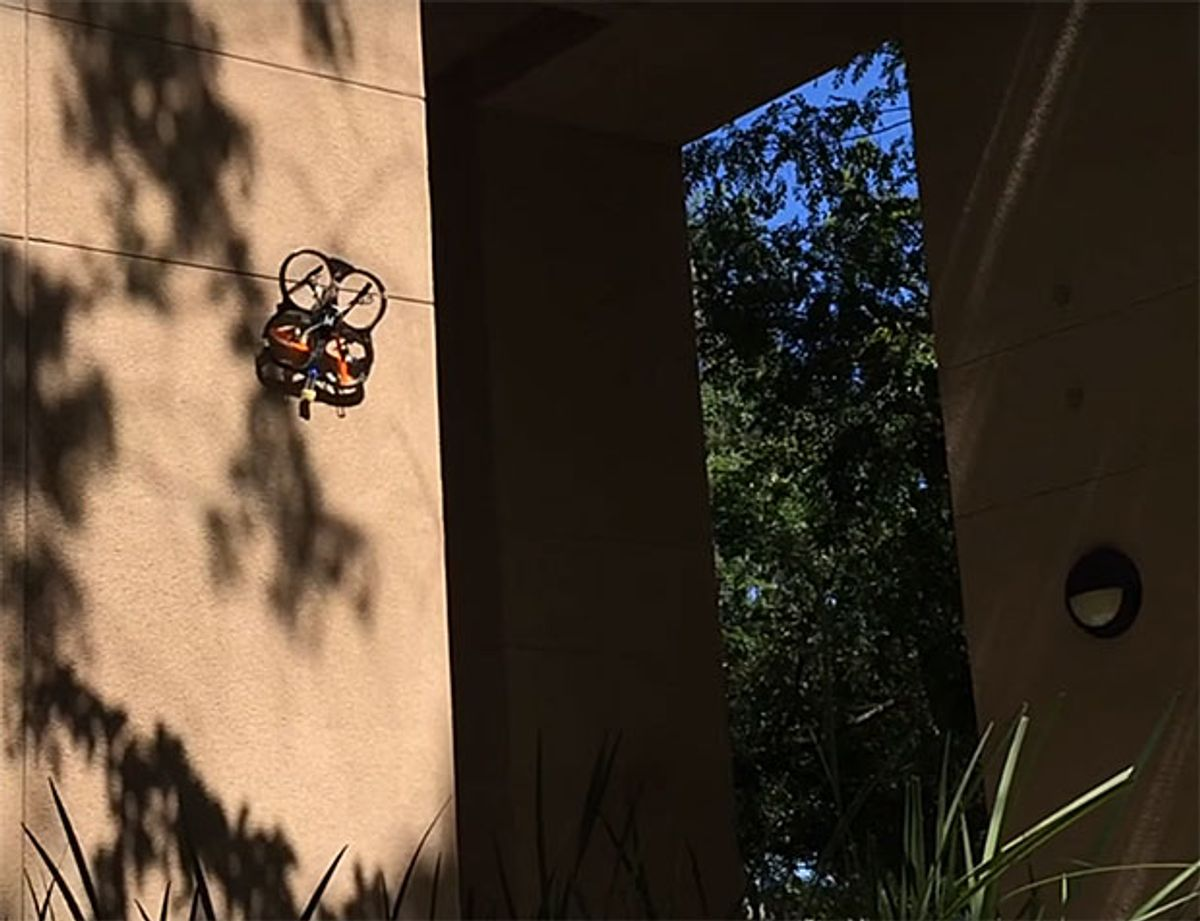 Stanford perching drone