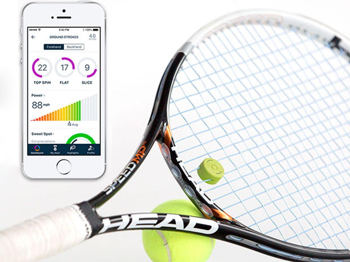 Smart Dampener Moves Tennis Motion Sensors Closer to the Action