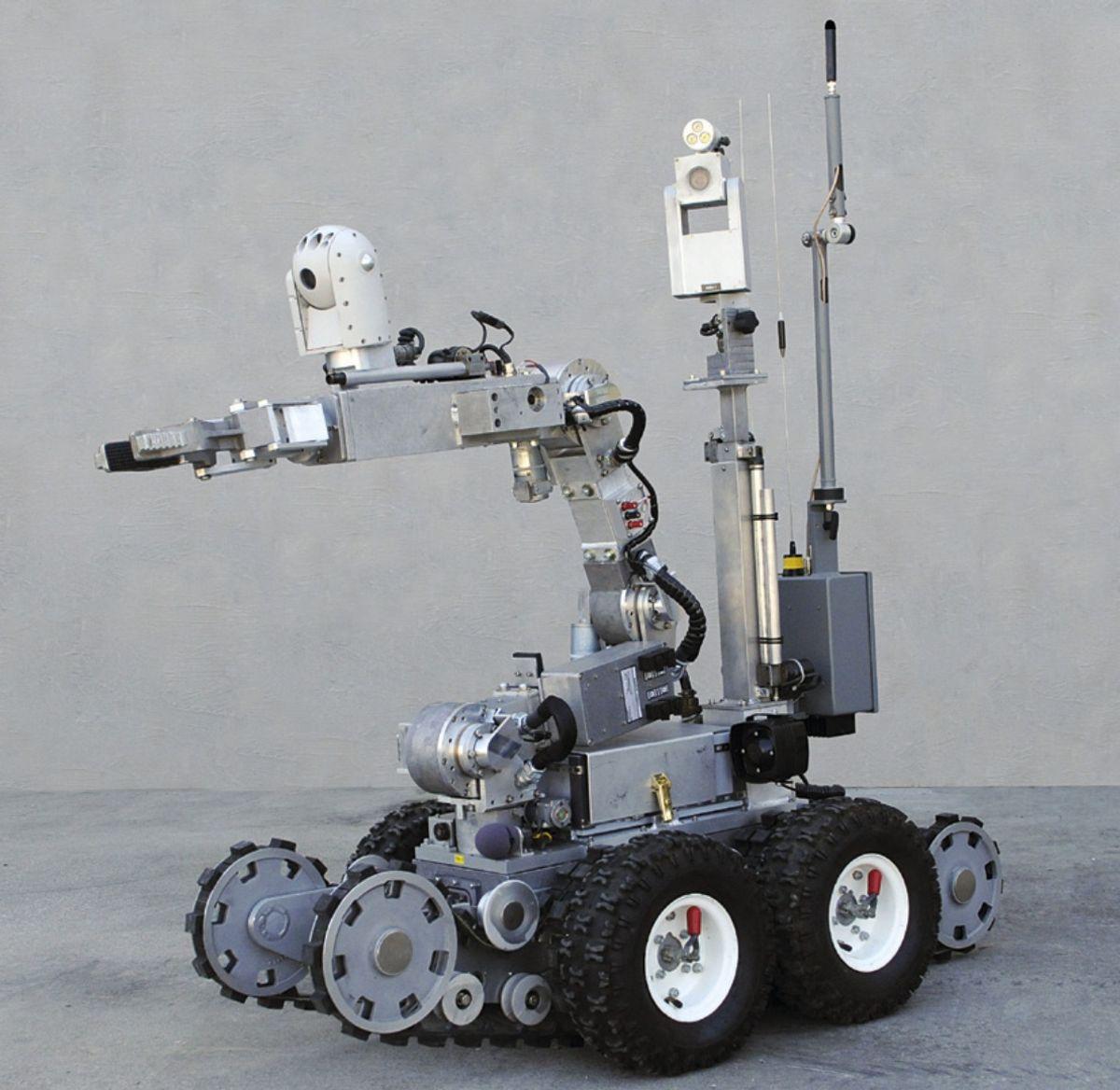 Northrop Grumman Remotec Andros F6B robot