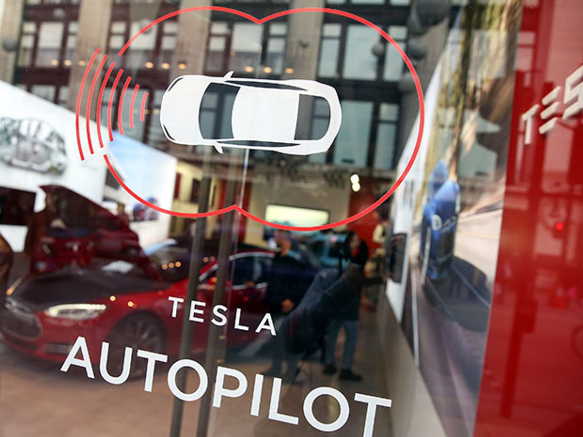 Fatal Tesla Self-Driving Car Crash Reminds Us That Robots Aren't Perfect
