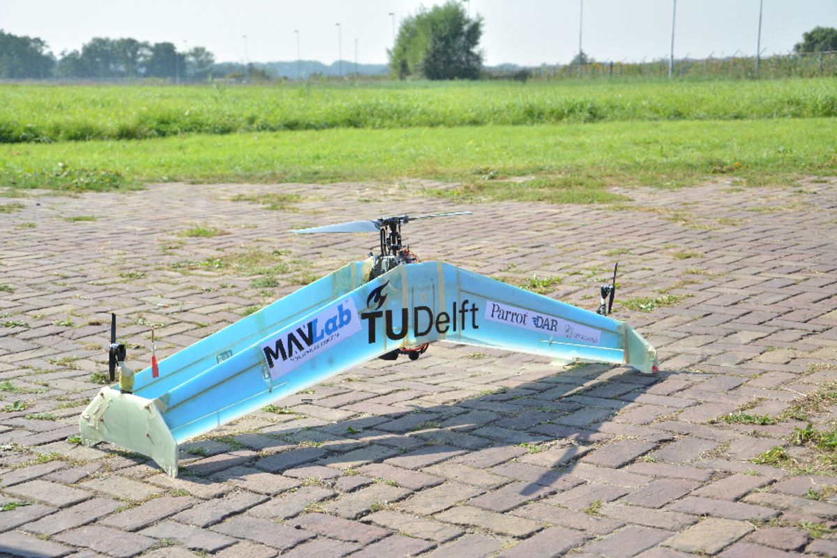 Delftacopter delivery drone
