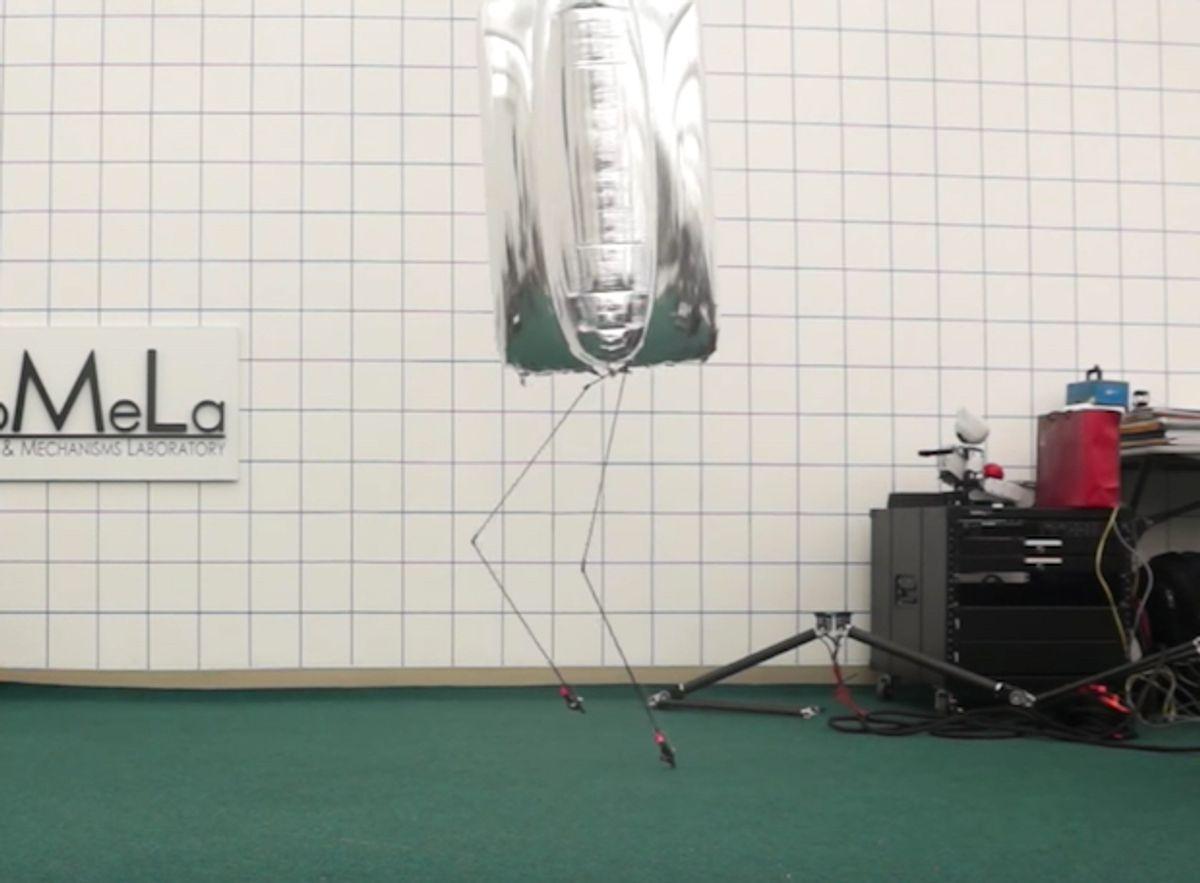 BALLU Humanoid Blimp Robot