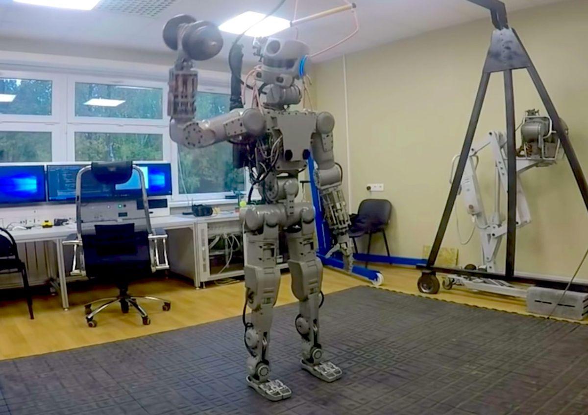 Russia's humanoid robot Fedor