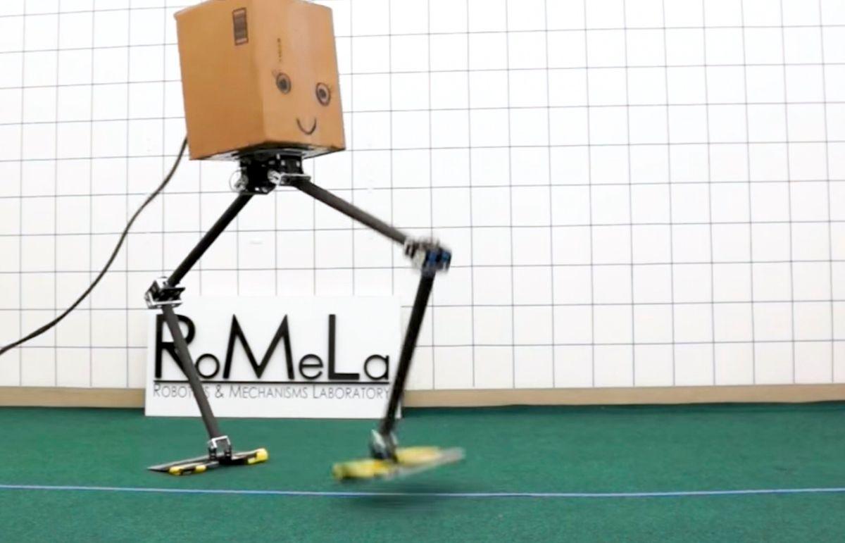 NABiRoS humanoid robot from RoMeLa