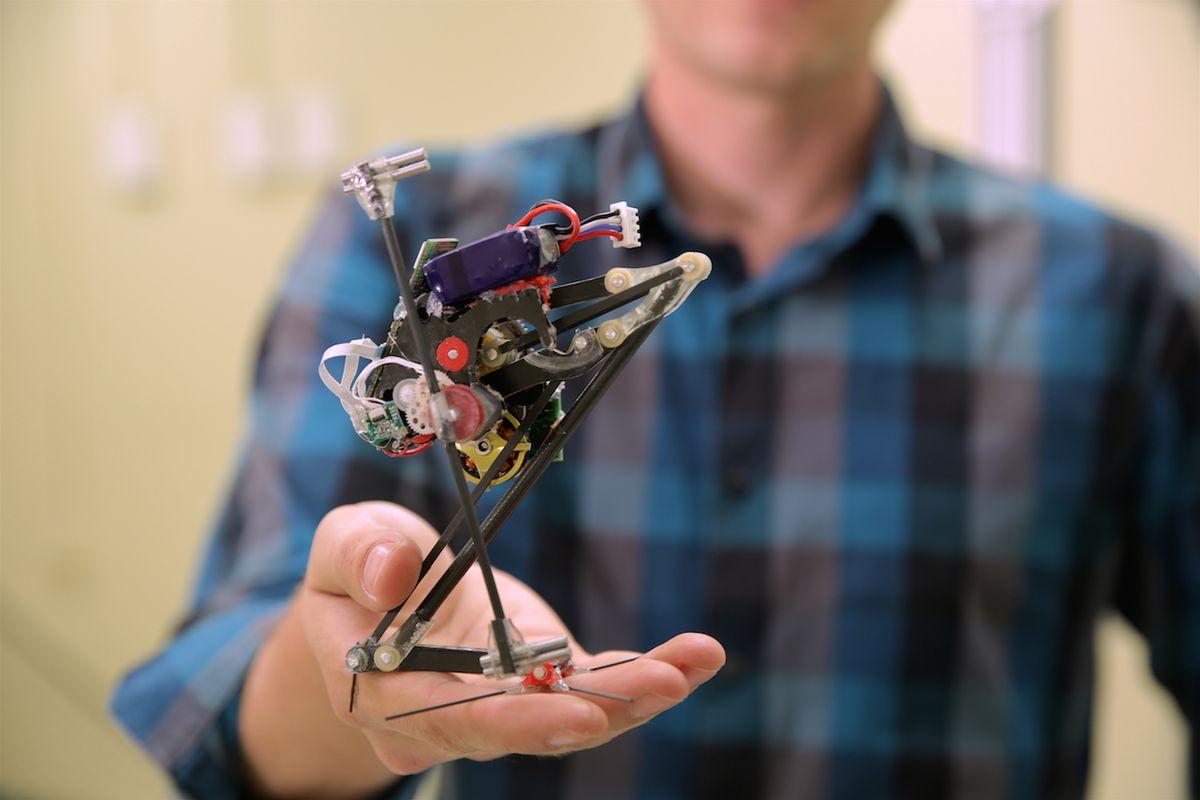 Salto jumping robot