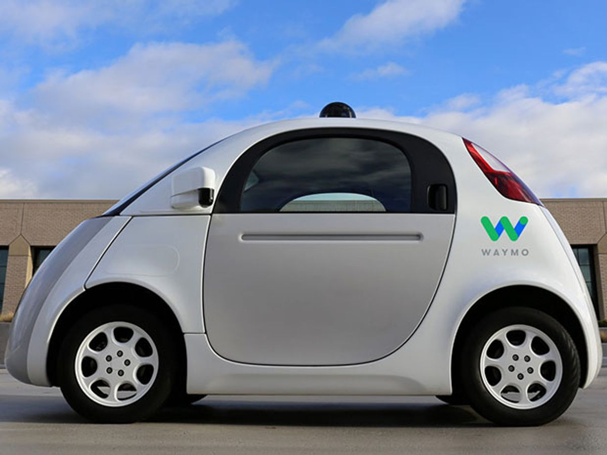 What will Waymo, Google's spun-off self-driving car business, do to earn a living?