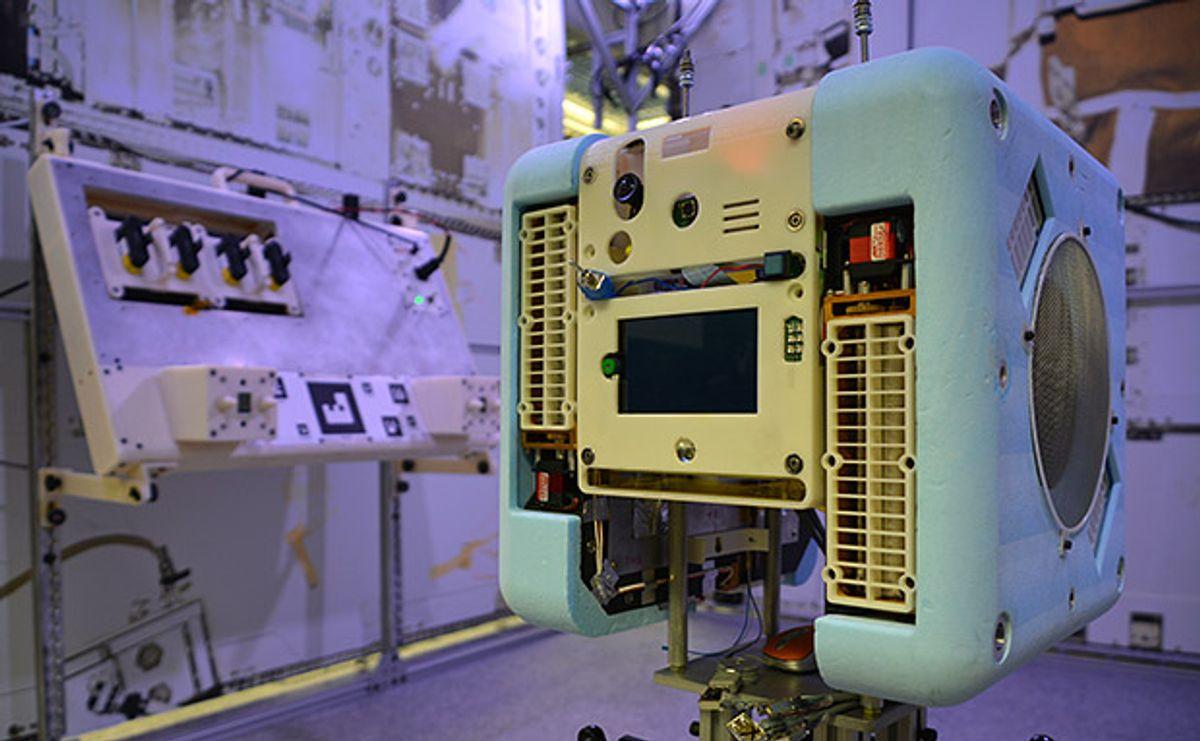 NASA's Astrobee space robots