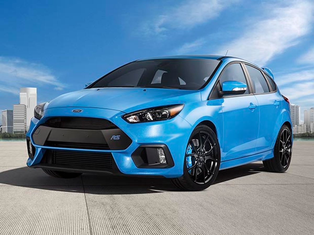 Photo of the Ford Focus RS.