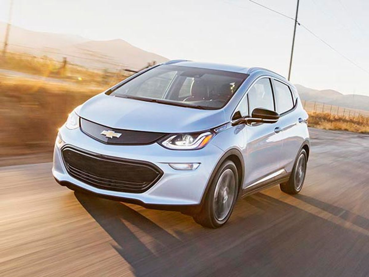 Photo of Chevy Bolt.