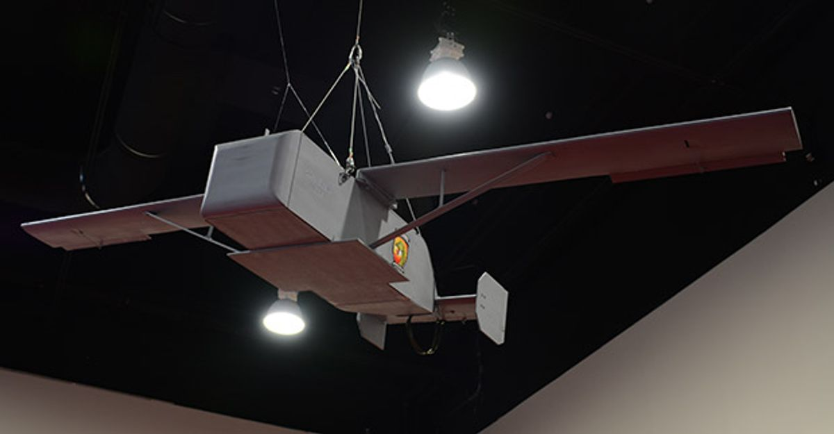 Disposable delivery drone developed by U.S. Marines