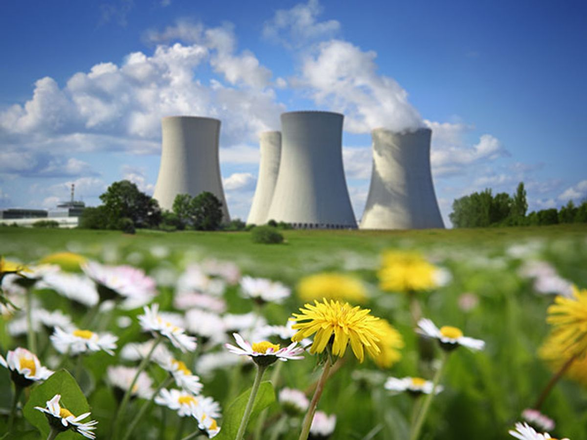 Can nuclear power plant operators remake the fission plants' image so that they'll be considered environmentally friendly as renewables?