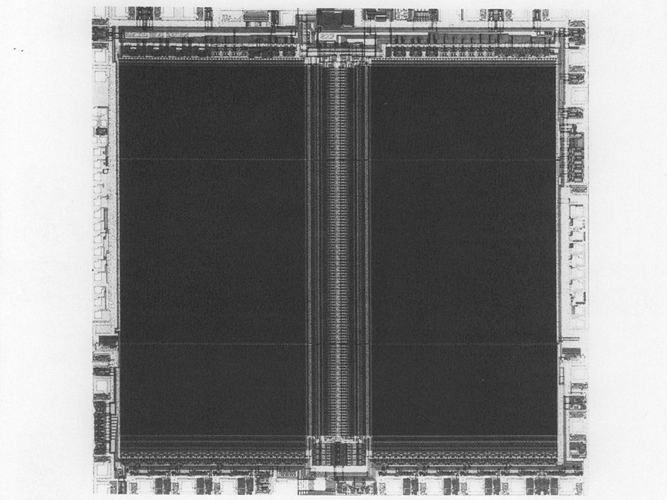 Toshiba NAND Flash Memory chip