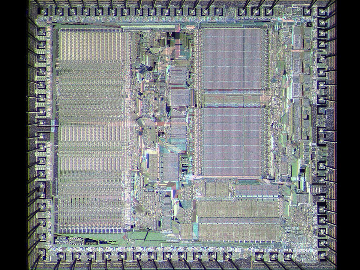 Motorola MC68000 Microprocessor