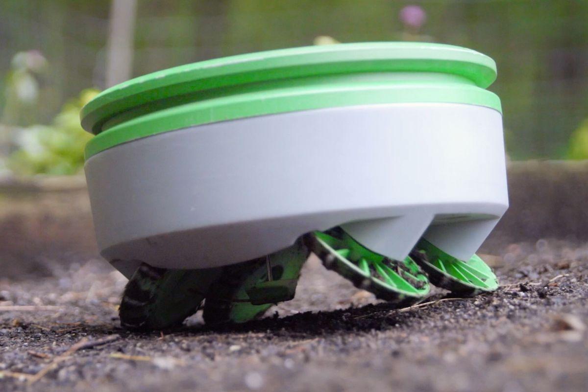 Franklin Robotics' Tertill weed-killing robot