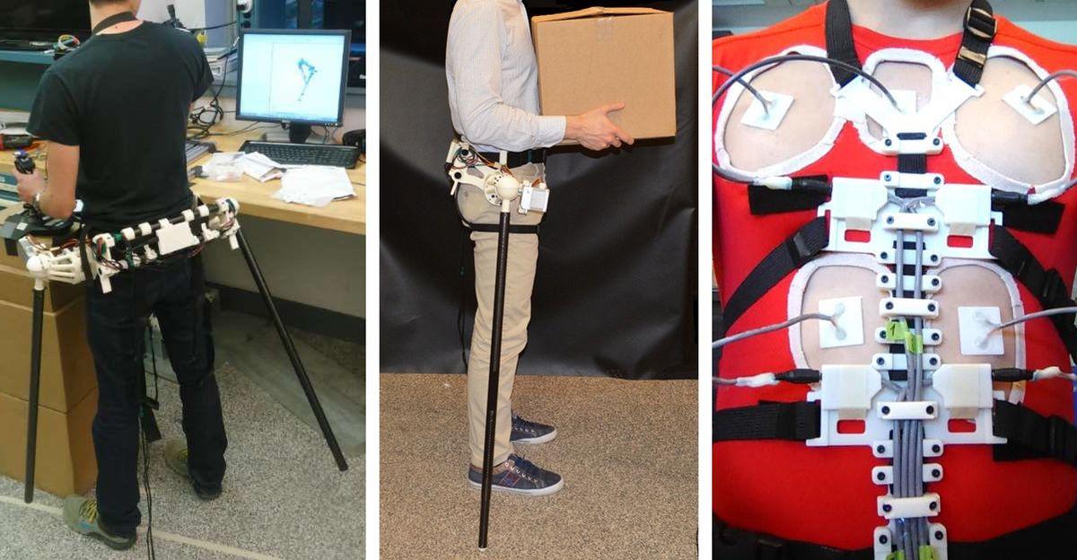 MIT Extra Robotic Limbs