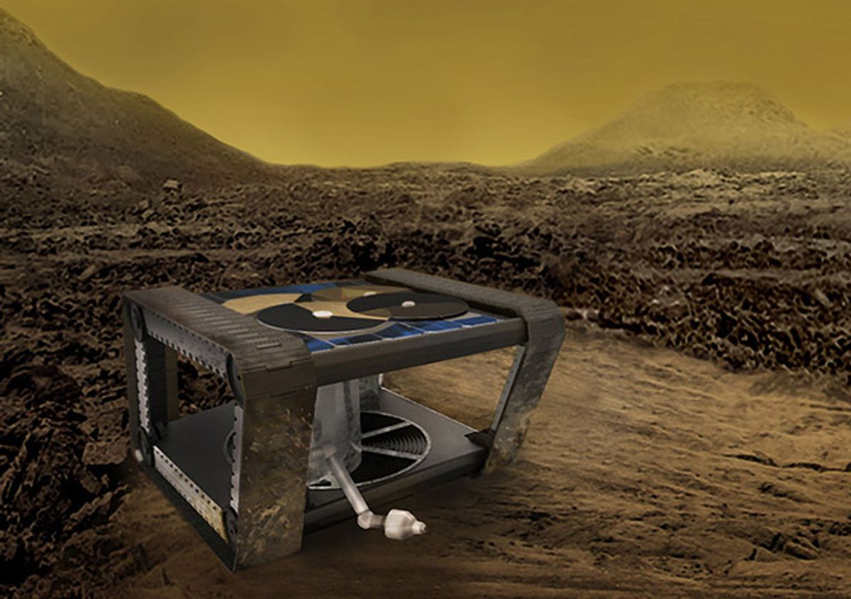 AREE Venus rover