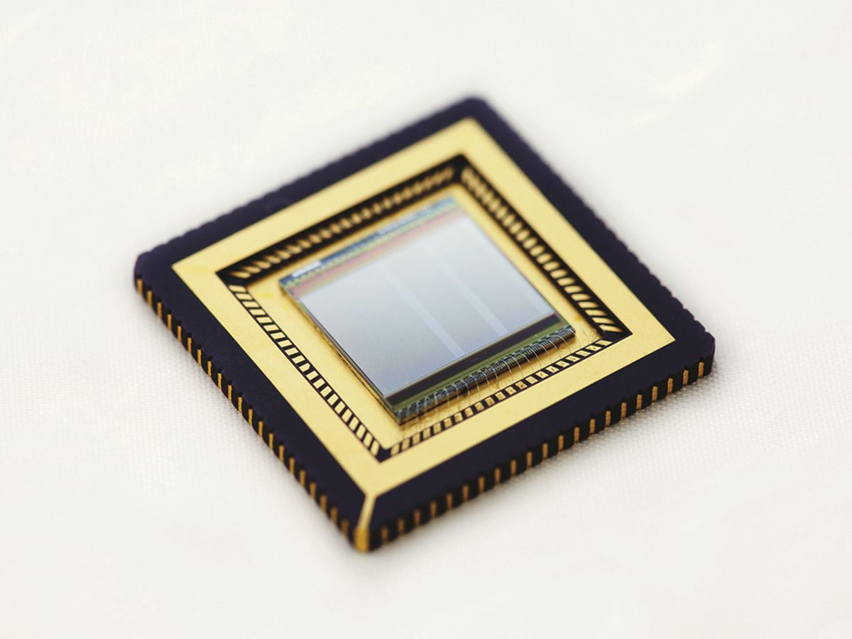 The first graphene-quantum dot based CMOS integrated camera developed by ICFO.