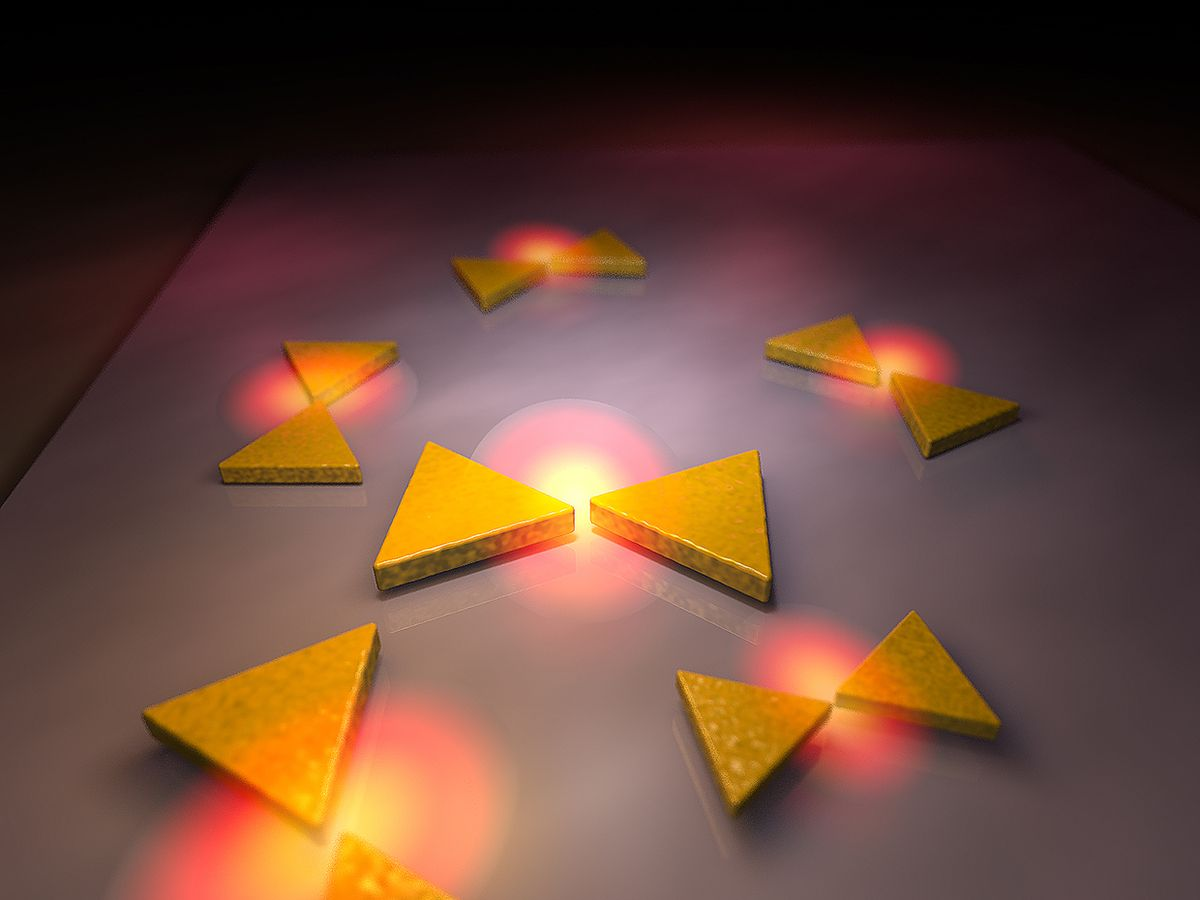 DNA origami nanostructure shapes.