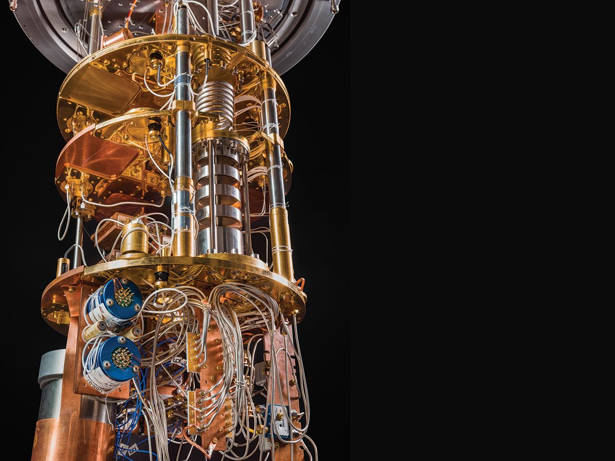 Google's new quantum computers look like props from a sci-fi film.