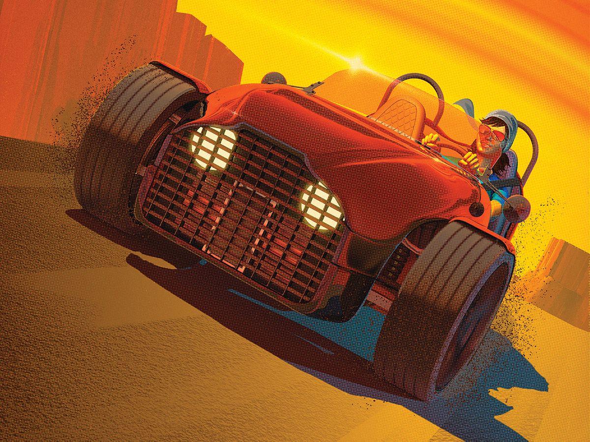 Car iIllustration by Tavis Coburn