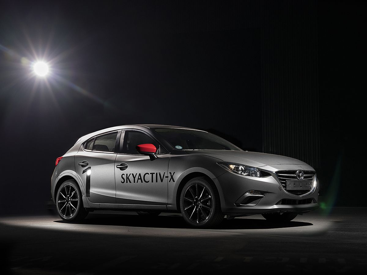 The Mazda prototype.