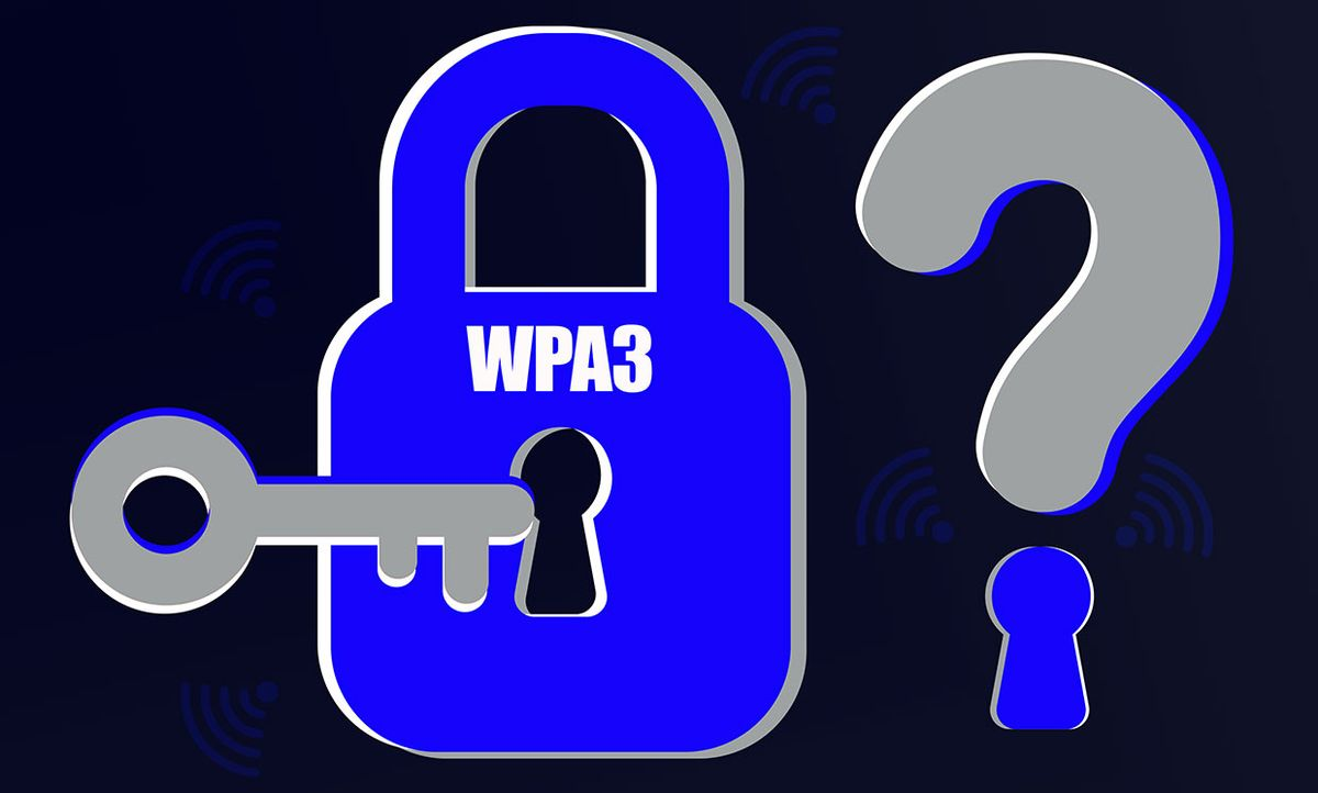 Illustration of security concerns for WPA3