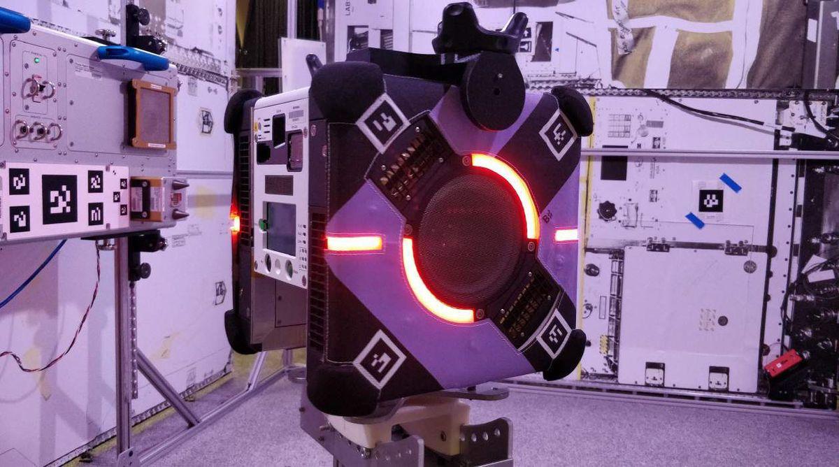NASA's Astrobee robot