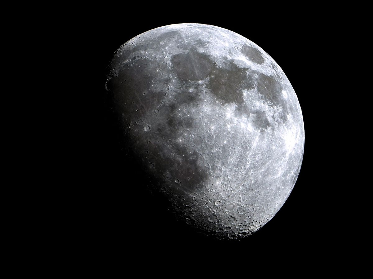 Photo of the moon by Alexander Rieber/EyeEm/Getty Images.