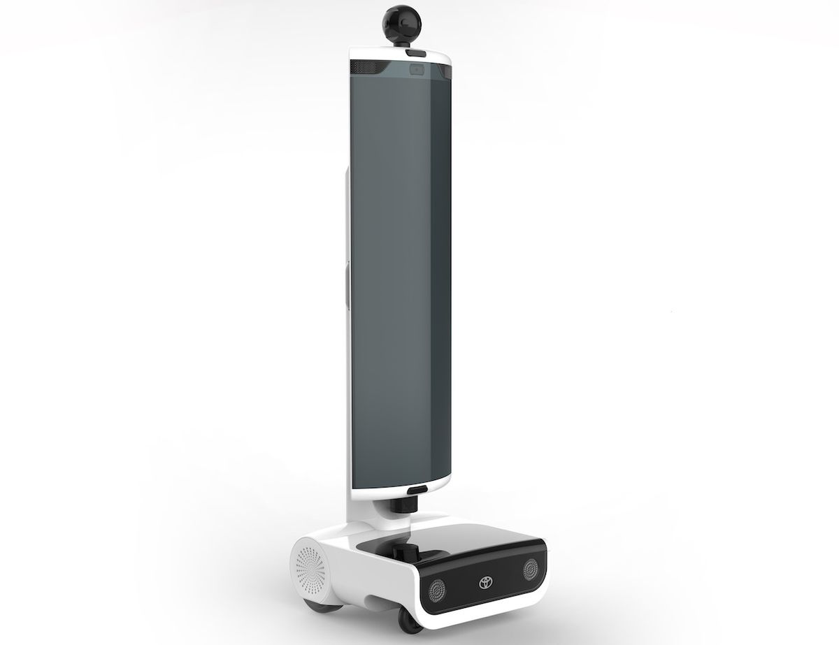 Toyota Research Developing New Telepresence Robot for 2020 Olympics