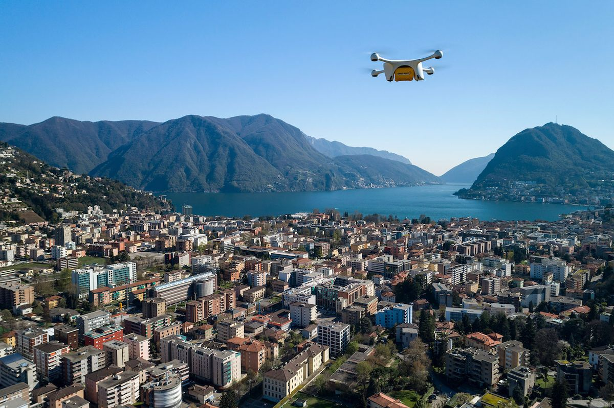 Swiss Post Suspends Drone Delivery Service After Second Crash