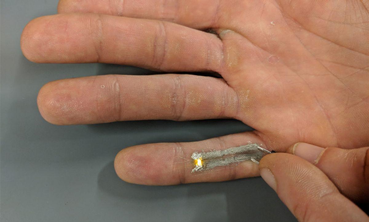 Image of finger printing