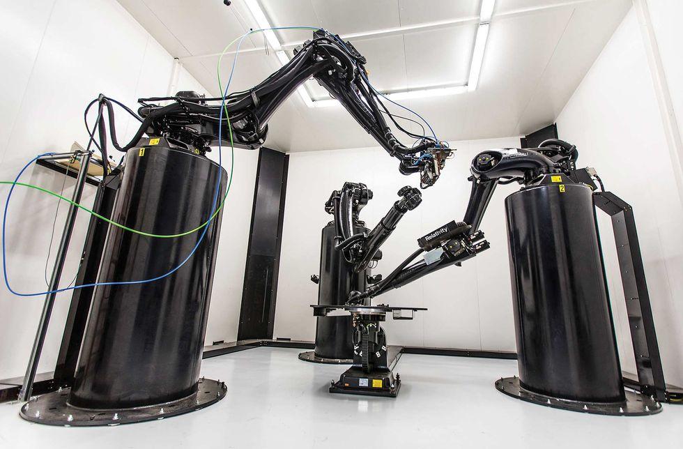 Photo of Stargate 3D printer.