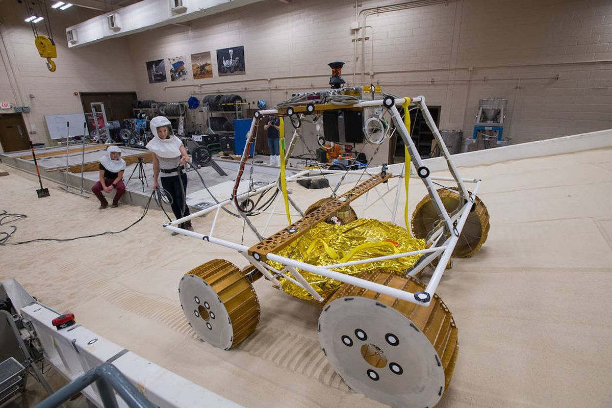 NASA VIPER Moon Rover