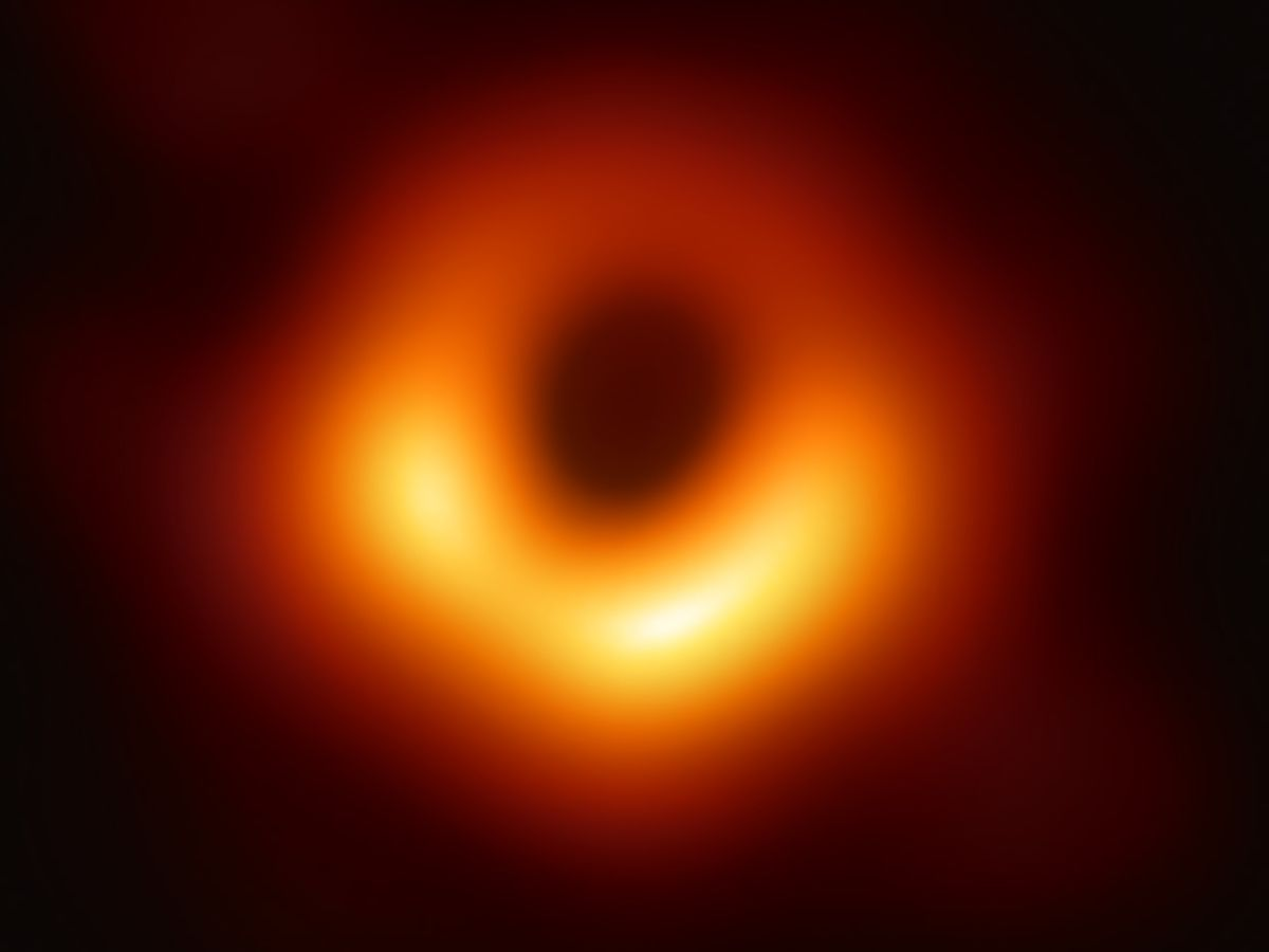 Image of a black hole called M87*