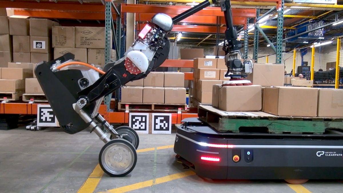 Boston Dynamics' Handle robot and OTTO Motors