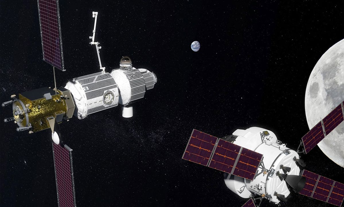 Orion will carry the Artemis crew to dock with the Gateway.