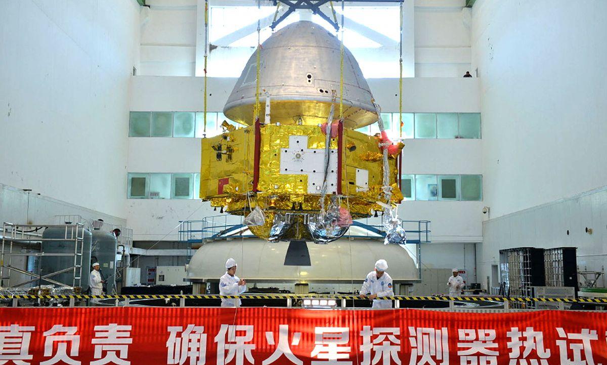 China's Mars explorer.