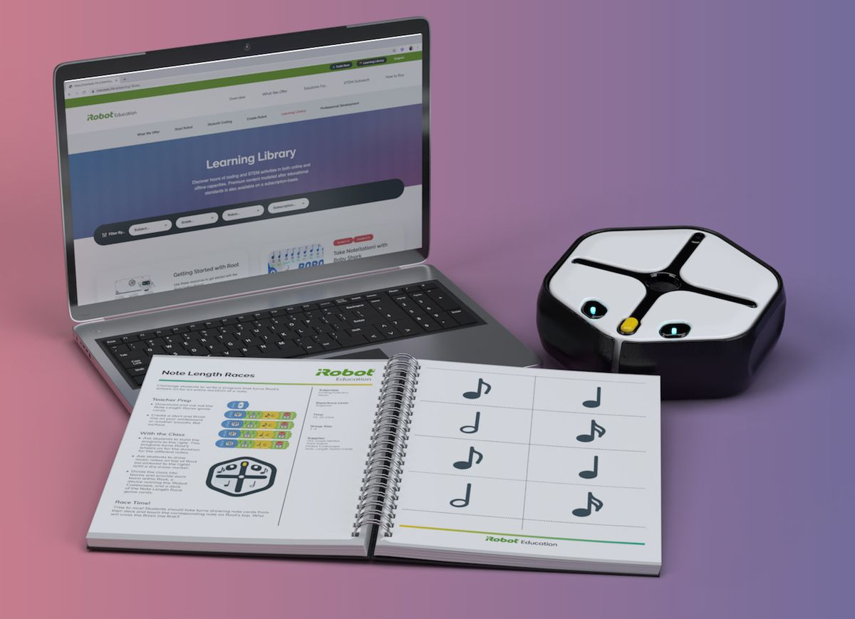 iRobot Coding and Root education robot for STEM education
