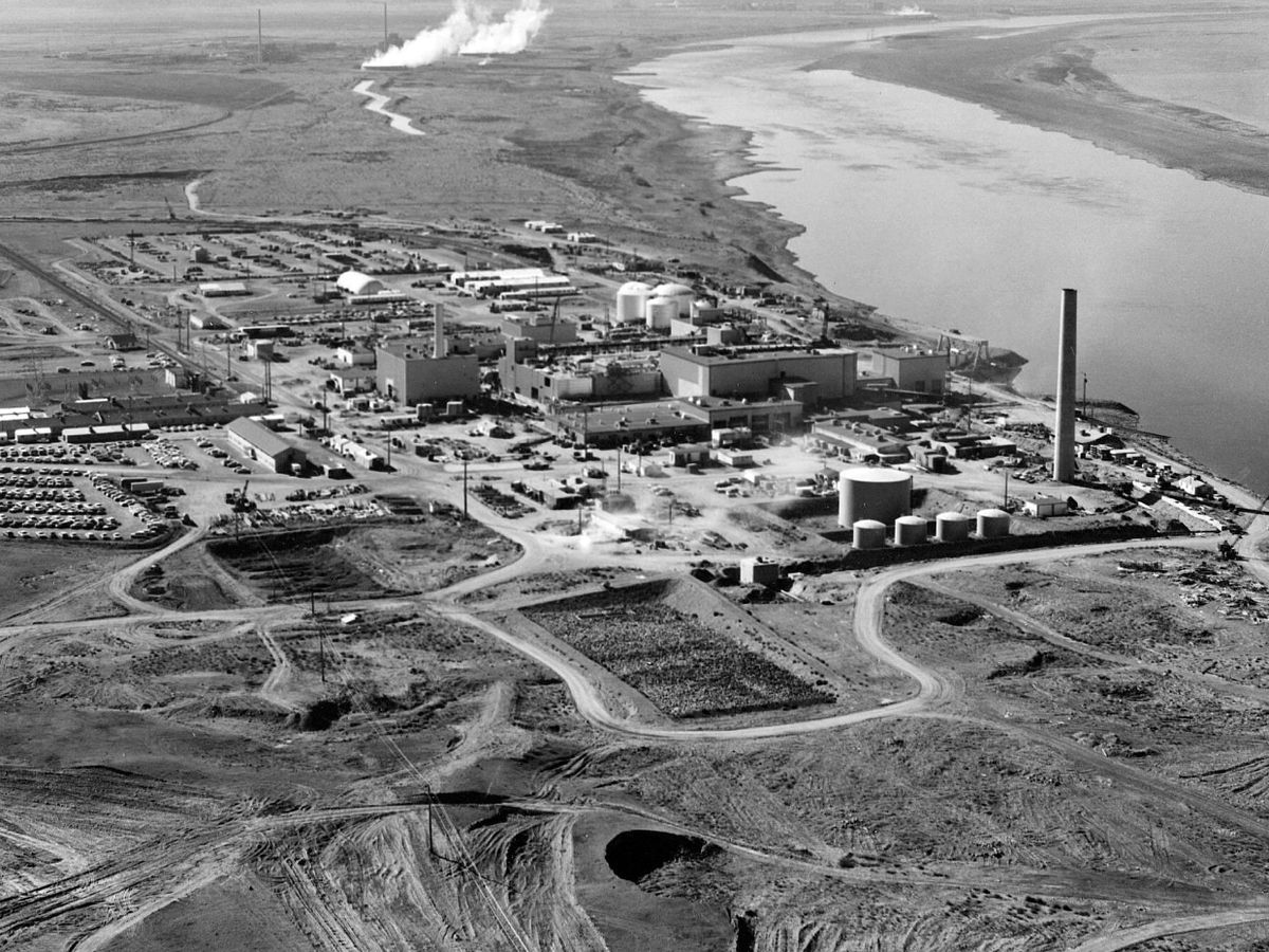 The Hanford Site, in south-central Washington state.