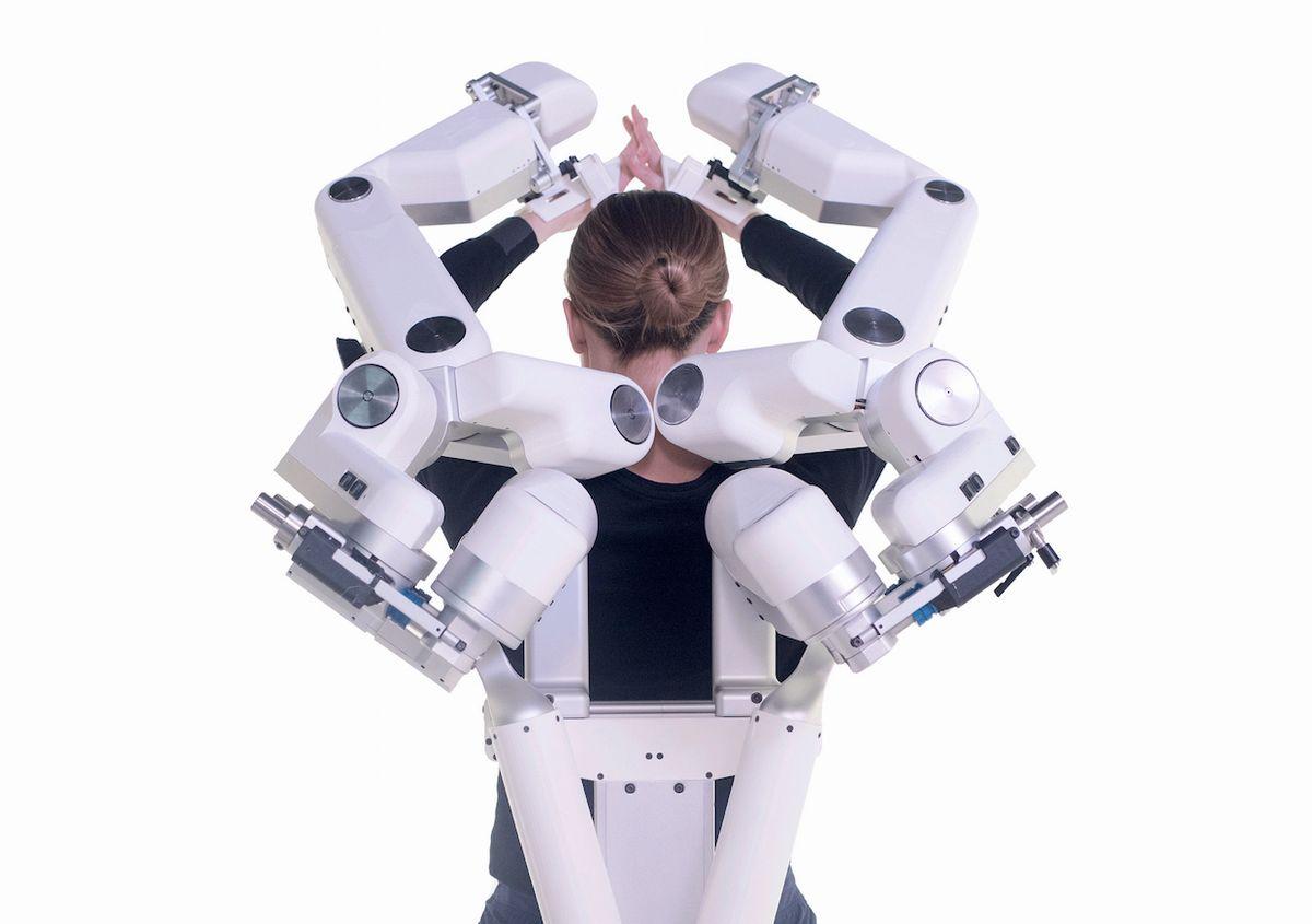 Harmonic Bionics Demonstrates Robotic Rehabilitation Exoskeleton