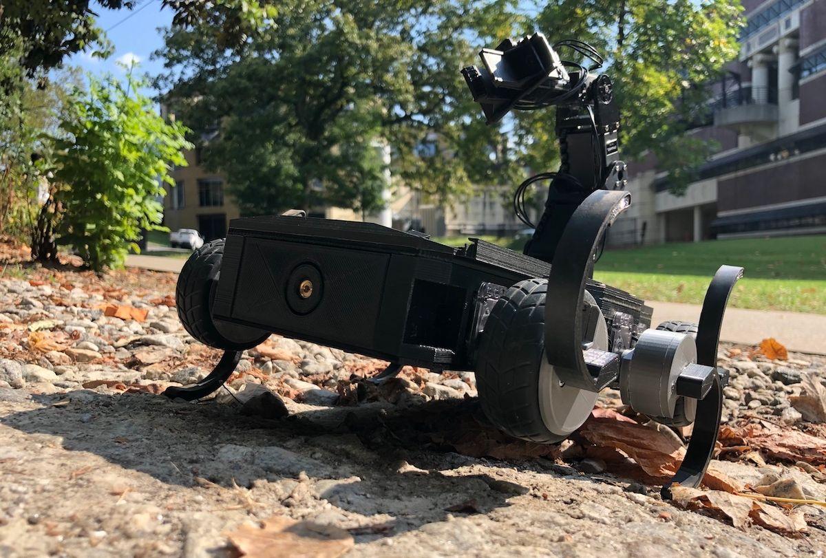 Georgia Tech robot that can change shoes