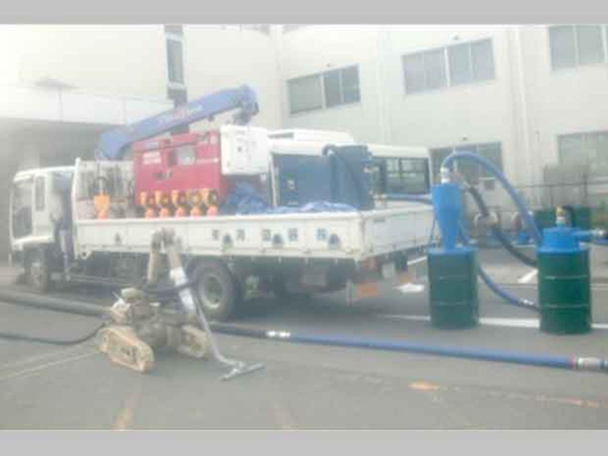 fukushima irobot warrior vacuum cleaner